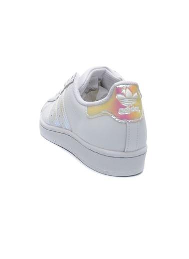 adidas Adidas Çocuk Günlük Spor Ayakkabı Superstar J Fv3139 Beyaz